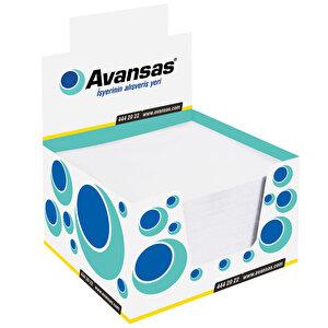 Avansas Beyaz Küp Not Kağıdı 8 cm x 8 cm 5 Adet - Çok Al Az Öde