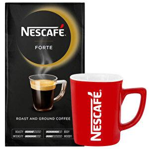 Nescafe Forte Filtre Kahve - Nescafe Kupa Hediyeli buyuk 1
