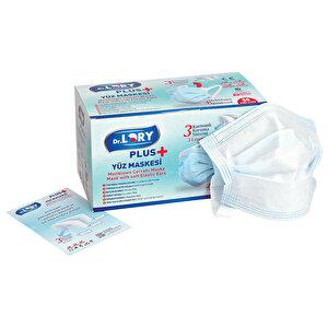 Dr. Lory Meltblown 3 Katlı Cerrahi Maske Geniş Lastikli 50'li Paket 2'incisi %50 İndirimli buyuk 3