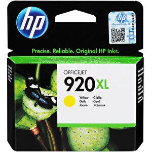 HP 920XL Sarı (Yellow) Kartuş CD974AE