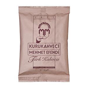 Kurukahveci Mehmet Efendi Türk Kahvesi Poşet 100 gr buyuk 1