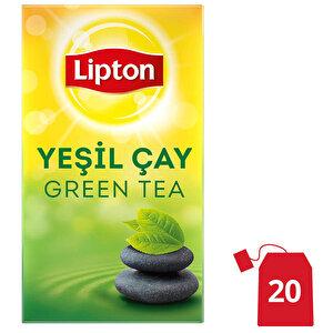 Lipton Sade Yeşil Bardak Poşet Çay 20'li
