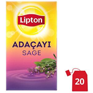 Lipton Adaçayı Bardak Poşet Çay 20'li buyuk 1