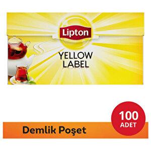 Lipton Yellow Label Demlik Poşet Çay 100'lü buyuk 1