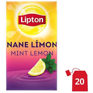 Lipton Nane Limon Bardak Poşet Çay 20'li buyuk 1
