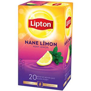 Lipton Nane Limon Bardak Poşet Çay 20'li buyuk 2