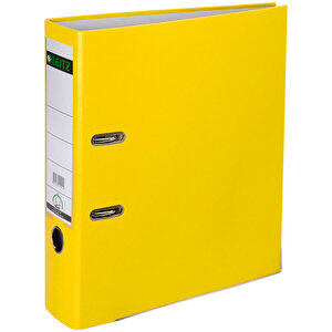 Leitz 1010 Plastik Klasör Geniş A4 Sarı buyuk 1