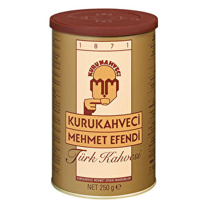 Kurukahveci Mehmet Efendi Türk Kahvesi Teneke Kutu 250 gr buyuk 1