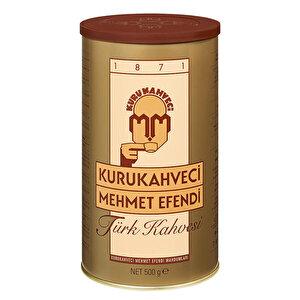 Kurukahveci Mehmet Efendi Türk Kahvesi Teneke Kutu 500 gr buyuk 1