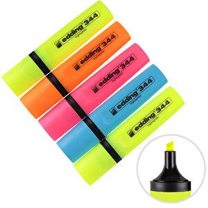 Edding 344 Fosforlu Kalem Karışık Renk 5'li Paket buyuk 1