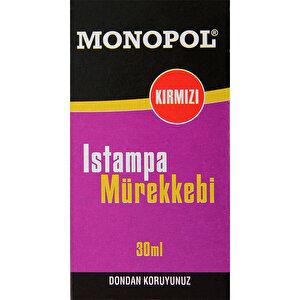 Monopol Istampa Mürekkebi 30 ml Kırmızı