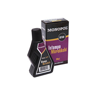 Monopol Istampa Mürekkebi 30 ml Siyah