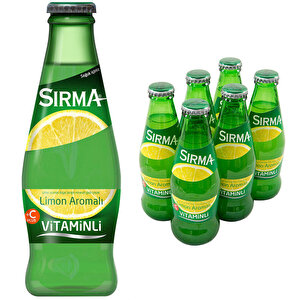 Sırma Vitaminli C-Plus Limon Maden Suyu 200 ml 6'lı Paket buyuk 1