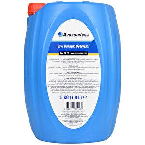 Avansas Clean Sıvı Bulaşık Deterjanı 5 kg