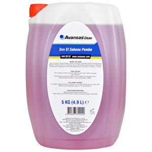 Avansas Clean Sıvı El Sabunu Pembe 5 kg buyuk 1