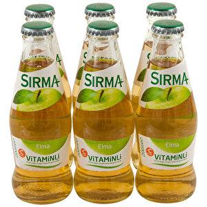 Sırma Vitaminli C-Plus Elma Maden Suyu 200 ml 6'lı Paket buyuk 3