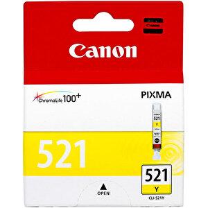 Canon 521 Sarı (Yellow ) Kartuş (CLI-521Y) buyuk 2