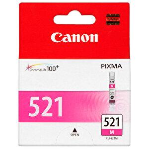 Canon 521 Kırmızı (Magenta) Kartuş (CLI-521M) buyuk 1