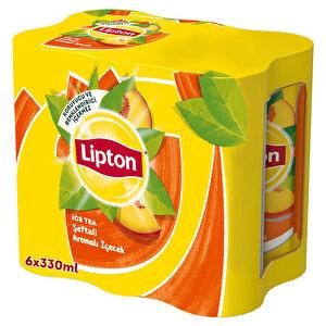 Lipton Ice Tea Şeftali 330 ml 6'lı Paket