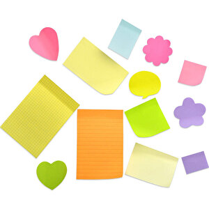 Post-It 659 Not Kağıdı 102 mm x 152 mm Sarı 100 Yaprak