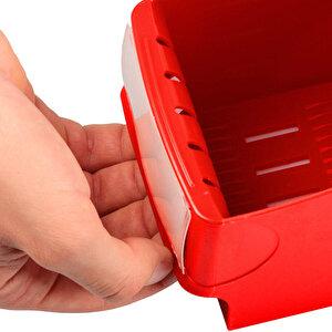 Leitz 2425 Plastik Magazinlik Kırmızı buyuk 4