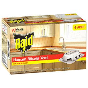 Raid Hamam Böceği Yemi 6'lı Paket