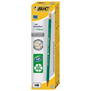 Bic Eco Evolution 655 Silgili HB Kurşun Kalem 12'li Paket