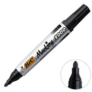 Bic 2000 Marker Kalem Yuvarlak Uç Siyah buyuk 1