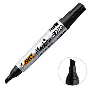 Bic 2300 Marker Kalem Kesik Uç Siyah buyuk 1