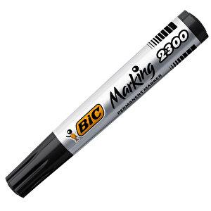 Bic 2300 Marker Kalem Kesik Uç Siyah buyuk 2