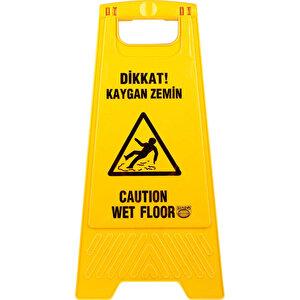 Kaygan Zemin PVC Uyarı Levhası 63 cm x 30 cm buyuk 1