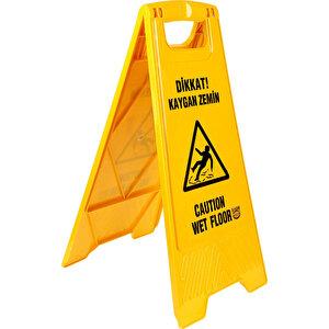 Kaygan Zemin PVC Uyarı Levhası 63 cm x 30 cm buyuk 2