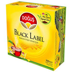 Doğuş Black Label Bardak Poşet Çay 100'lü  buyuk 1
