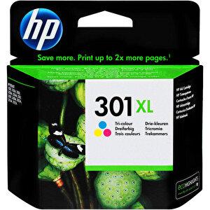 HP 301XL Üç Renkli Kartuş CH564EE buyuk 1