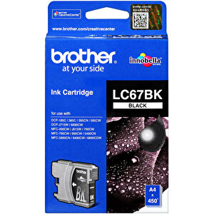 Brother LC67BK Siyah (Black) Kartuş