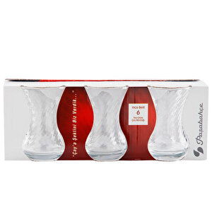 Paşabahçe 42781 Optikli Çay Bardağı 125C 6'lı Paket