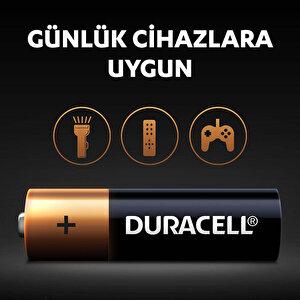 Duracell Alkalin AA Kalem Piller, 4'lü paket buyuk 4