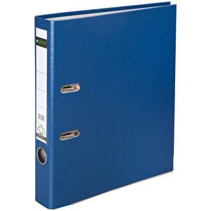 Leitz 1015 Plastik Klasör Dar A4 Mavi