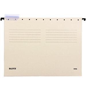Leitz 6515 Askılı Dosya Telsiz Gri 25'li Paket buyuk 1