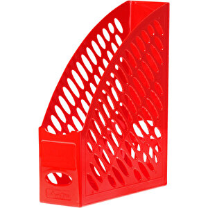 Ark 2050 Sırt Etiketli Plastik Magazinlik Kırmızı buyuk 1