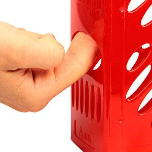 Ark 2050 Sırt Etiketli Plastik Magazinlik Kırmızı buyuk 3
