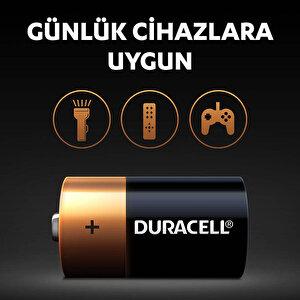 Duracell Alkalin C Piller, 2'li paket buyuk 4