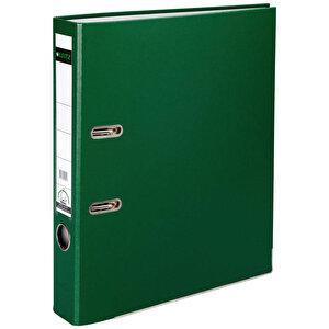 Leitz 1015 Plastik Klasör Dar A4 Yeşil buyuk 1