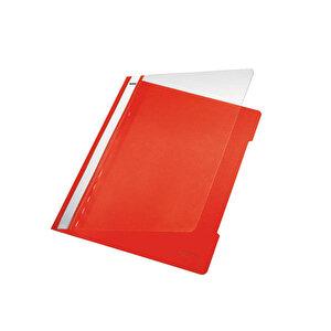 Leitz 4189 Telli Dosya Kırmızı 50'li Paket buyuk 2