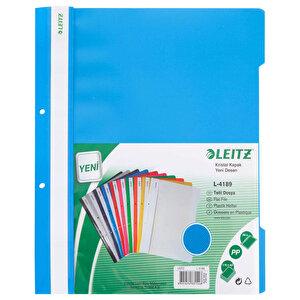 Leitz 4189 Telli Dosya Mavi 50'li Paket buyuk 4