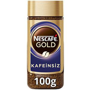Nescafe Gold Kahve Kafeinsiz 100 gr buyuk 1