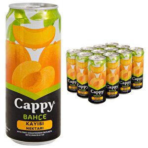 Cappy Meyve Suyu Kayısı Teneke Kutu 330 ml 12'li Paket buyuk 1