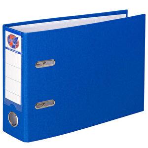Worldone Telgraf Klasör Geniş A5 Mavi 5'li Paket buyuk 1