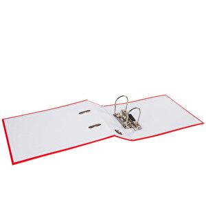 Worldone Telgraf Klasör Geniş A5 Kırmızı 5'li Paket buyuk 2