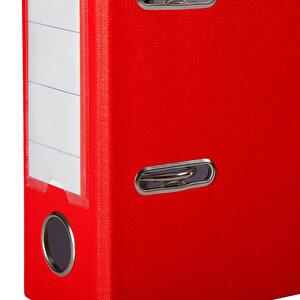 Worldone Telgraf Klasör Geniş A5 Kırmızı 5'li Paket buyuk 4